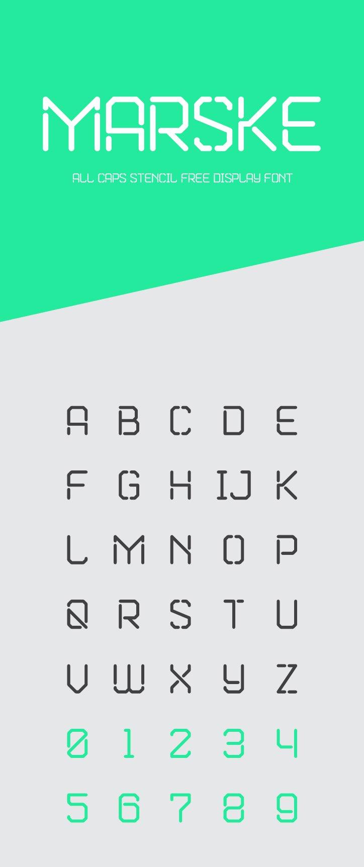 Marske Free Font