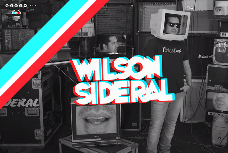 Wilson Sideral in Best Creative Website Designs of 2014