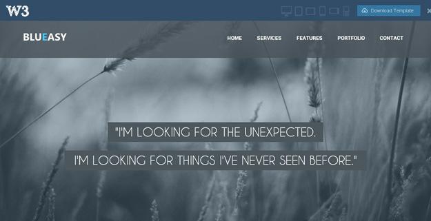 一次满足你几个愿望!25款值得收藏的免费响应式网页模板
