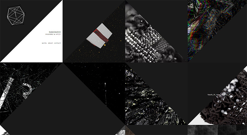 ivxvixviii in Best Creative Website Designs of 2014