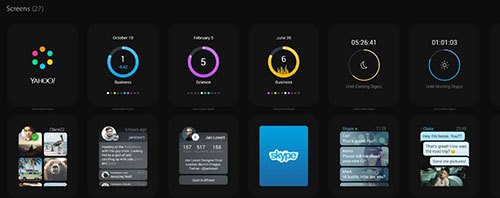 Apple Watch Apps GUI Template
