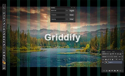 超方便!帮你快速生成Photoshop参考线的Griddify