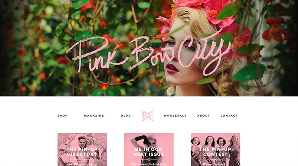 Pink Bow City