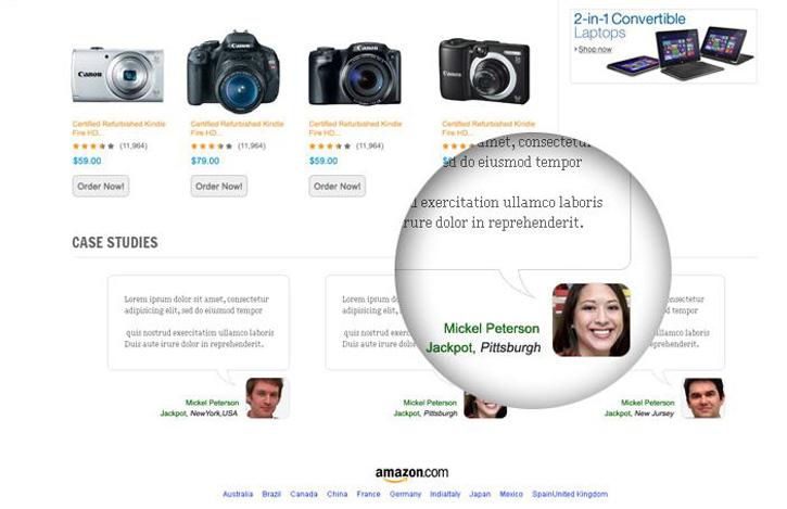 浴火重生的网页!22位设计师的Amazon重设计稿