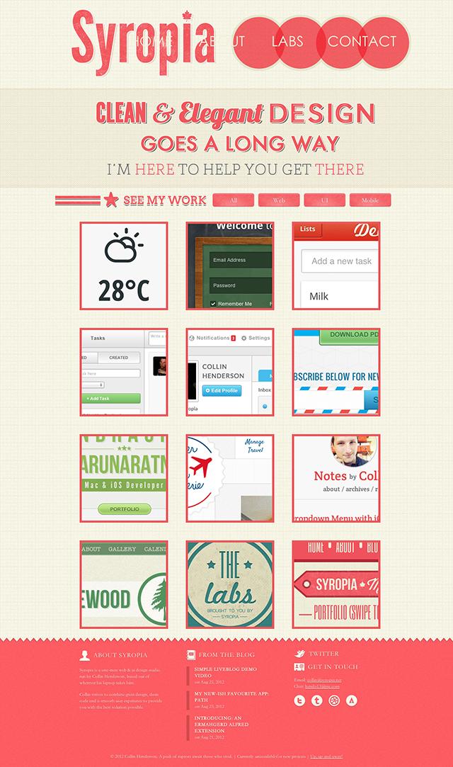 超有料!给网页设计新手的10条实用法则