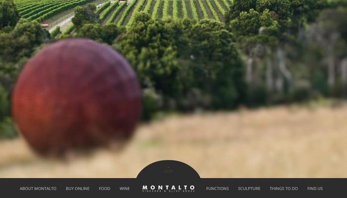 千杯不醉!28个风光绝美的葡萄酒网站设计