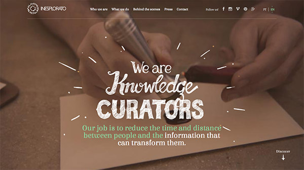 """巧笔画天工!20个创意迸发的""""大手笔""""字体网站"""