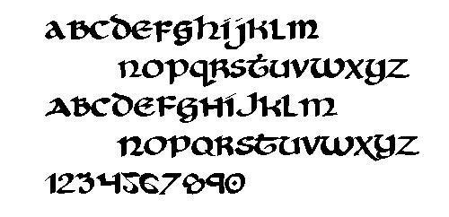 美到极致!练英文书法的人最喜欢哪些字体?(附书写教程)