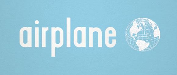 Airplane+font