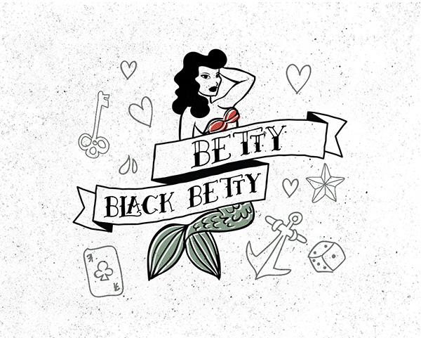 Betty+Font