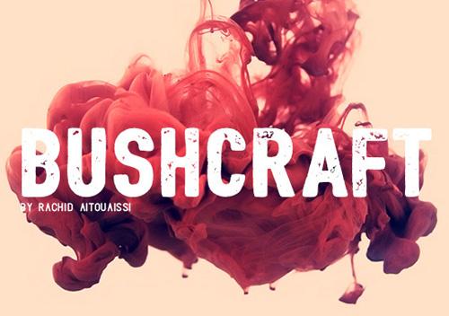 Bushcraft+font