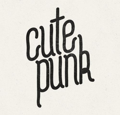 CutePunk+font
