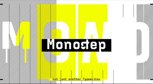 Monostep+font