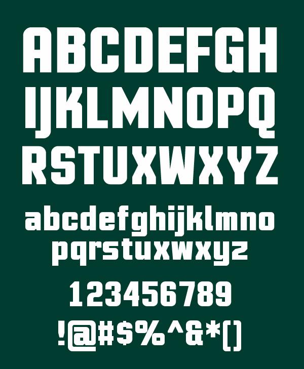 MotionControl+Font+Letters