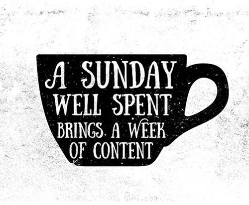 Sunday+font