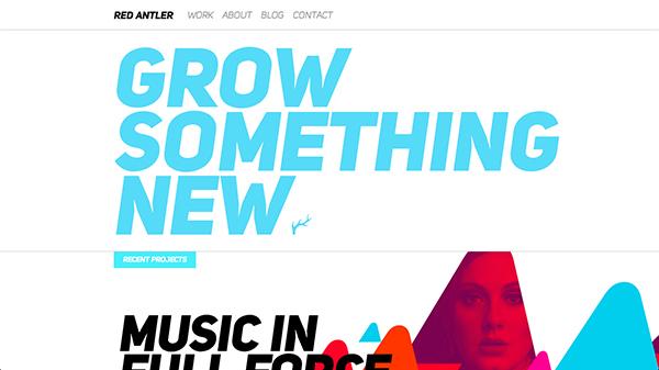 如何搞定排版?来看这16个版式设计出色抢眼的优秀网站