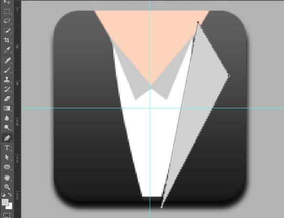 PS教程!手把手教你绘制精致的写实领带图标