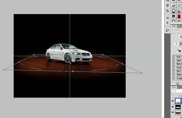 PS中级教程!教你打造一张炫酷的全视角汽车海报