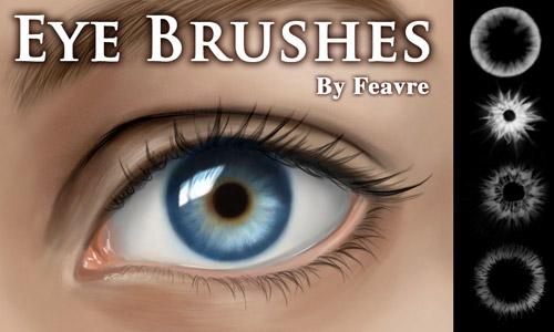 eye iris photoshop brushes free