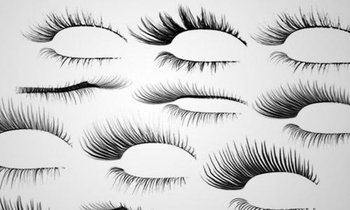 lips lashes photoshop brush free