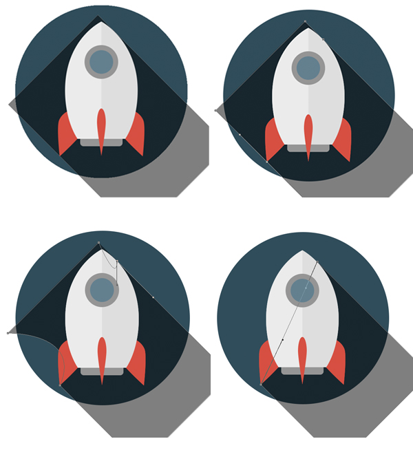 13-space-flat-icons-photoshop-rocket