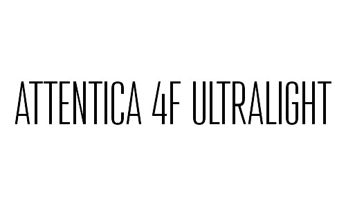 attentica free thin fonts