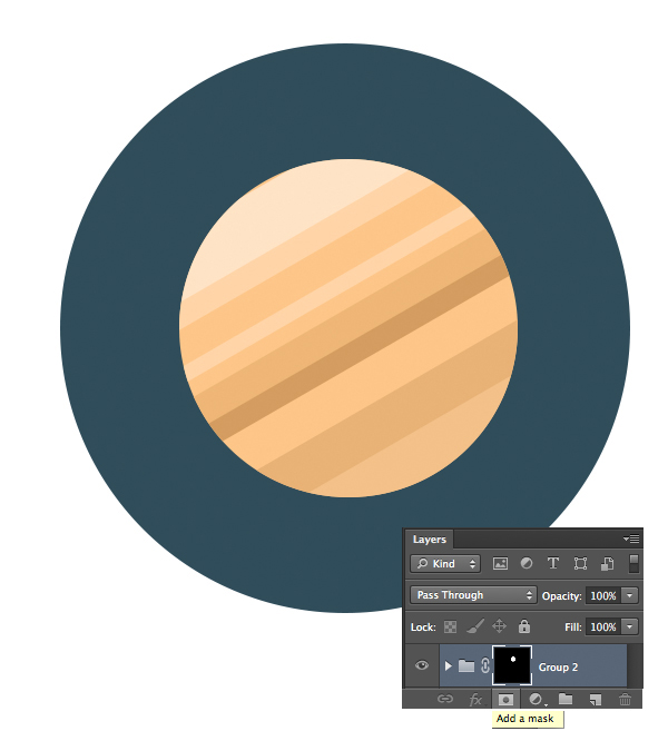 19-space-flat-icons-photoshop-saturn