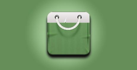 PS教程!手把手教你绘制精致写实的购物袋图标