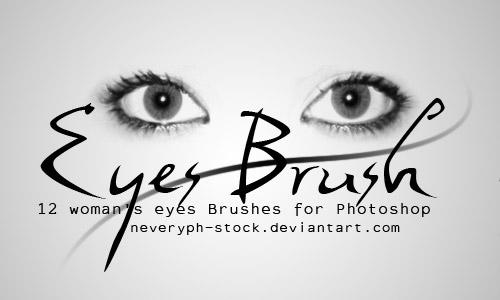 free eyes photoshop  brushes