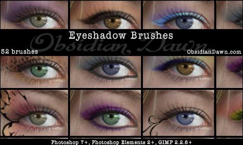 eyeshadow photoshop brushes free