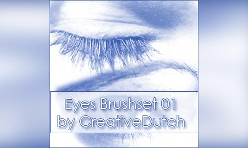 brushes eyes photoshop