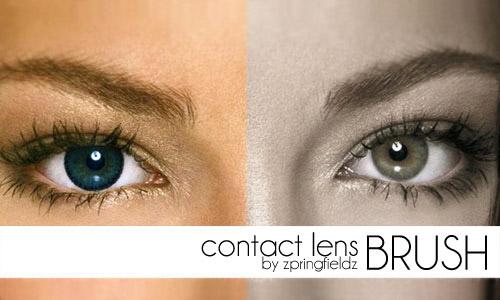 eyelens photoshop brush free