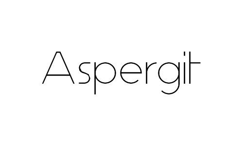 aspergit free thin fonts