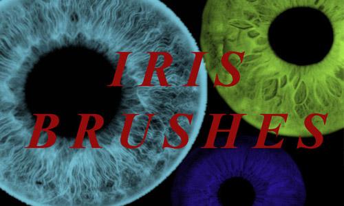 iris brushes photoshop free