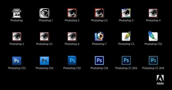 生日快乐!Adobe Photoshop喜迎25岁生日!