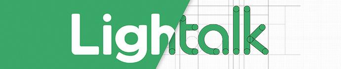 LOGO实战好文!腾讯新聊天软件Lightalk英文Logo诞生记