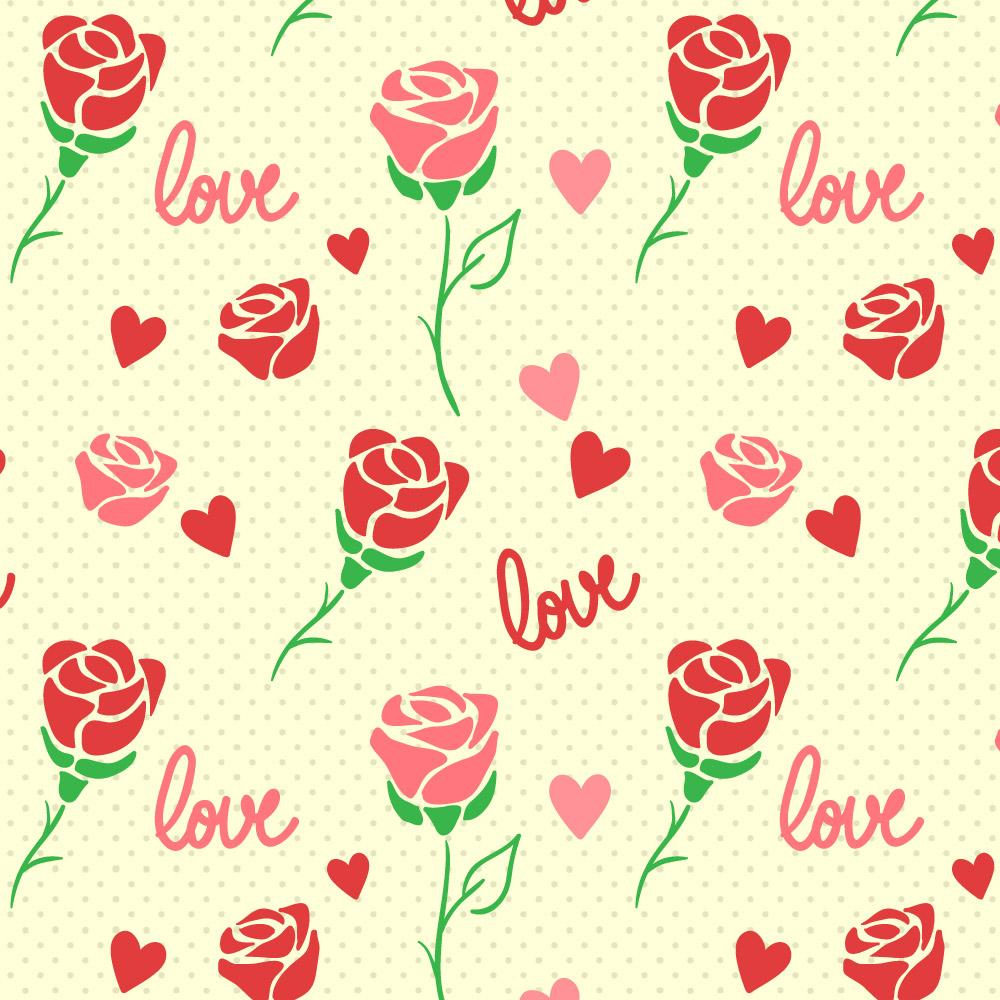 情人节福利!15组免费可商用的情人节图案资源打包下载