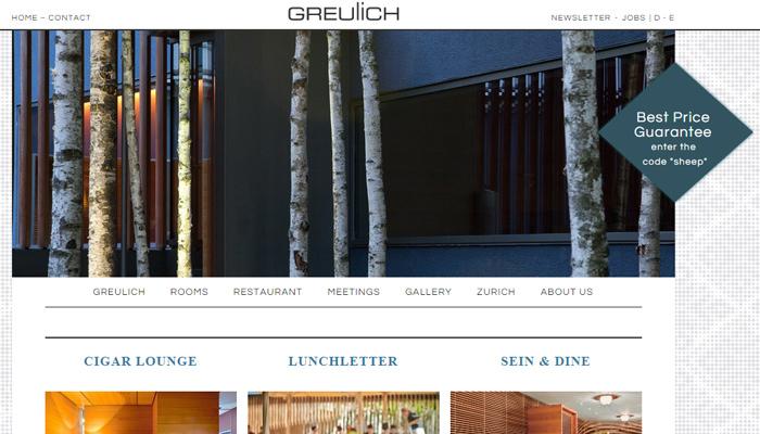 灵感多面体!30个各领风骚的酒店网站设计
