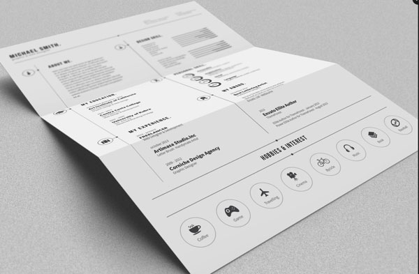 年后求职福利!22款高端实用的个人简历模板免费下载