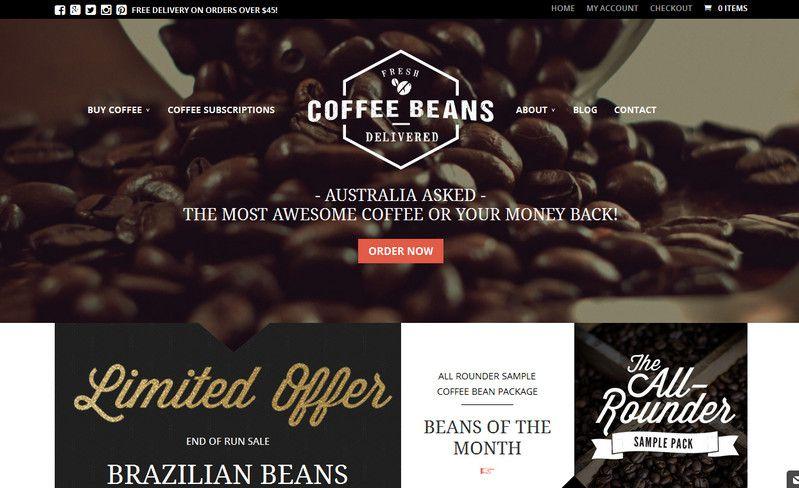 缱绻慢时光!那些意境情怀俱佳的咖啡类网页设计