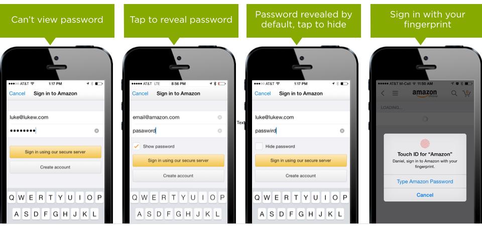 不易察觉的细节!常见的登录界面该不该显示密码?