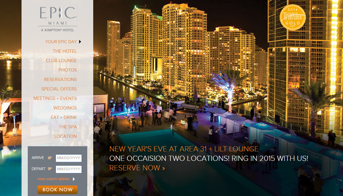 epic miami hotel resort website