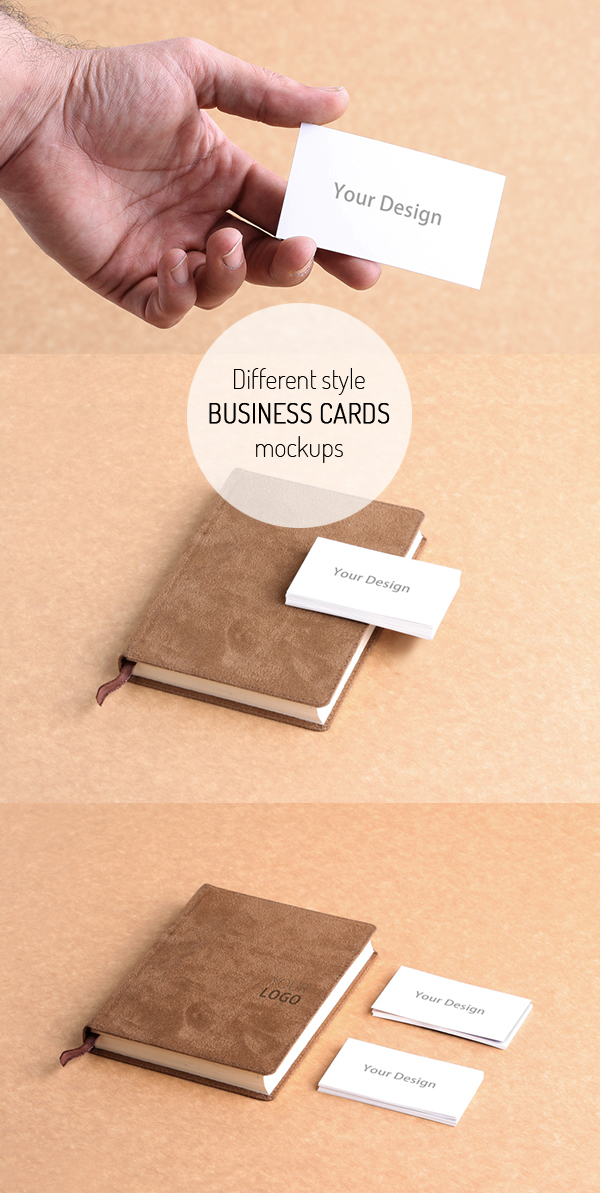 Free Business Cand Mockup