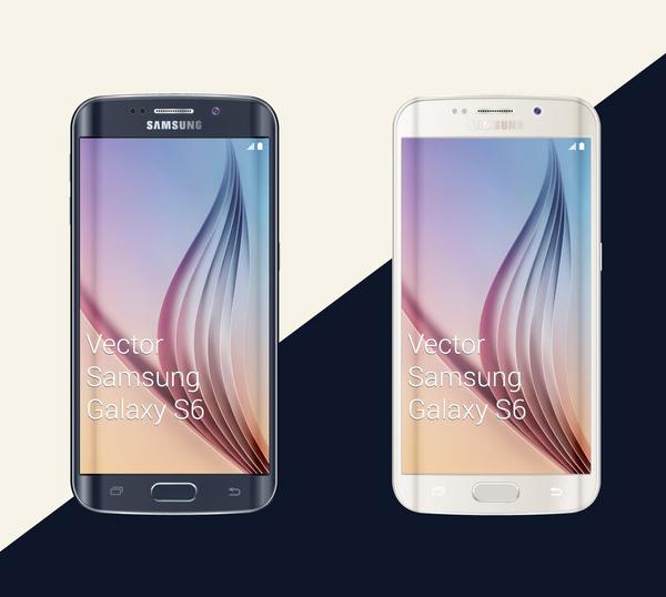 Free Samsung Galaxy S6 Mockup Design