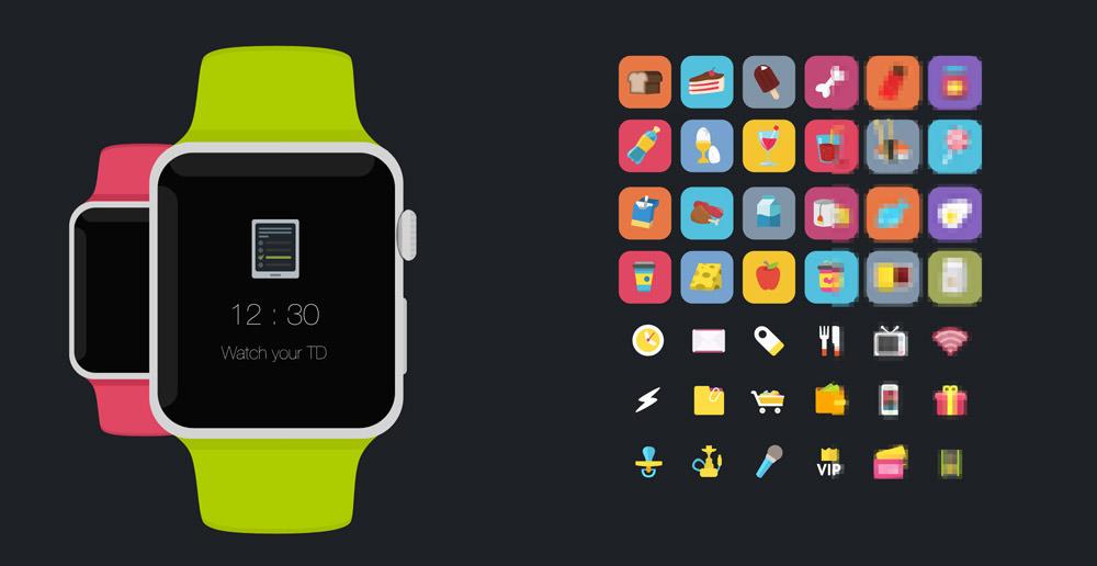 干货必收!高质量Apple Watch展示模板+GUI免费下载