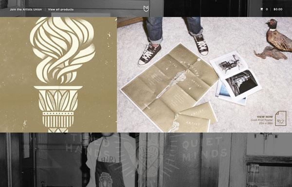 颜值爆表!如何打造一个高大上的图片展示网站?