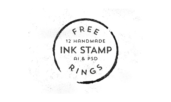 Free Handmade Stamp Rings