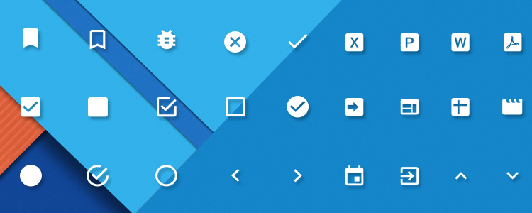 Material Design Powerpoint & Keynote Icons