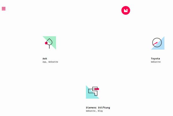 带你去冒险!20个炫酷好玩儿的网页导航设计