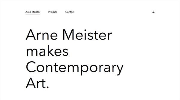 Arne Meister Contemporary Art